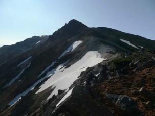 永山岳から国立峰