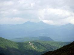ビリベツ岳と西クマネシリ