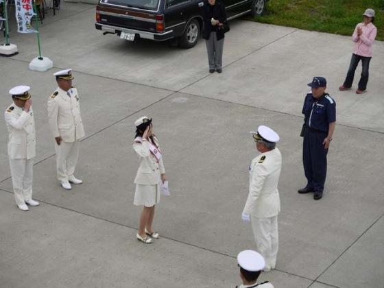 一日船長の任命式