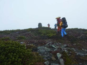 文蔵岳山頂