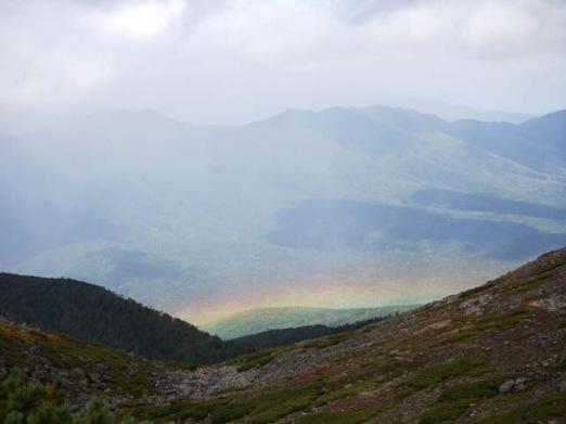 14:25虹を見た