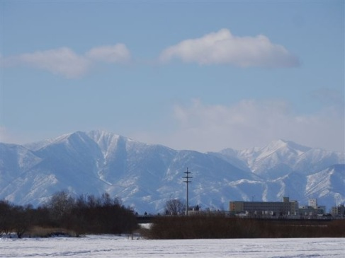 今日の日高山脈