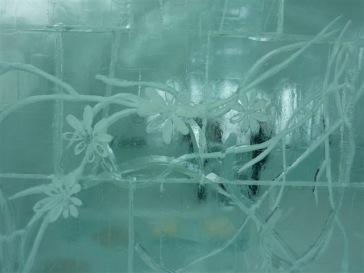 アイスのステンドグラス