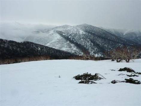 1時間15分でピーク。ペケレベツ岳