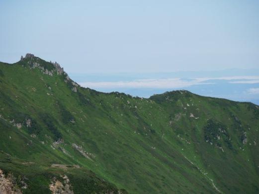 黒岳山頂からの雲海