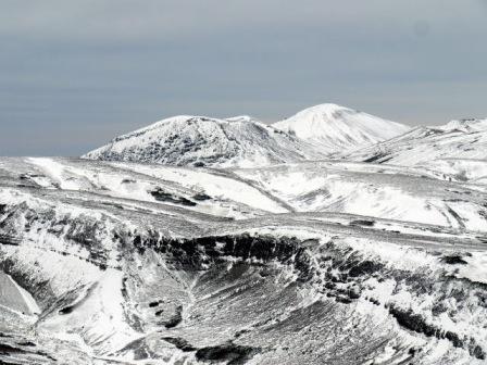 赤岳から北海岳、北鎮岳