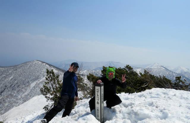ペケレベツ岳 2015-04-29 033