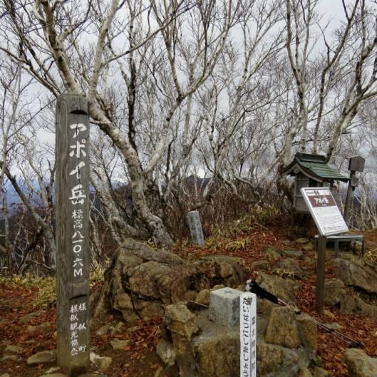 ピンネシリ~吉田岳~アポイ岳縦走 2015-11-14 059